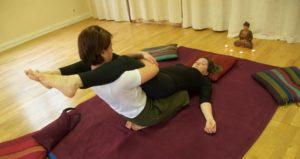 Massage thaï dos