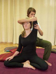 Massage Thaï épaule