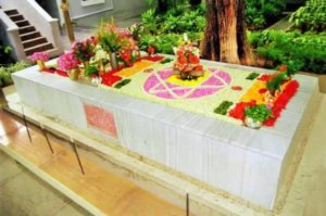 Samadhi Sri Aurobindo La Mère