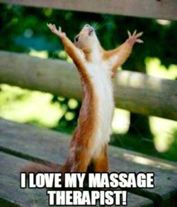 Massage j'adore