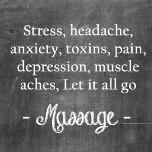 Massage laisse aller