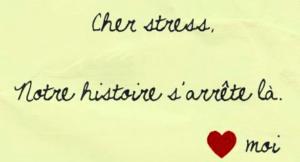 Bye Bye le stress!